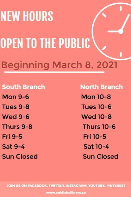 Re-Opening Monday, March 8